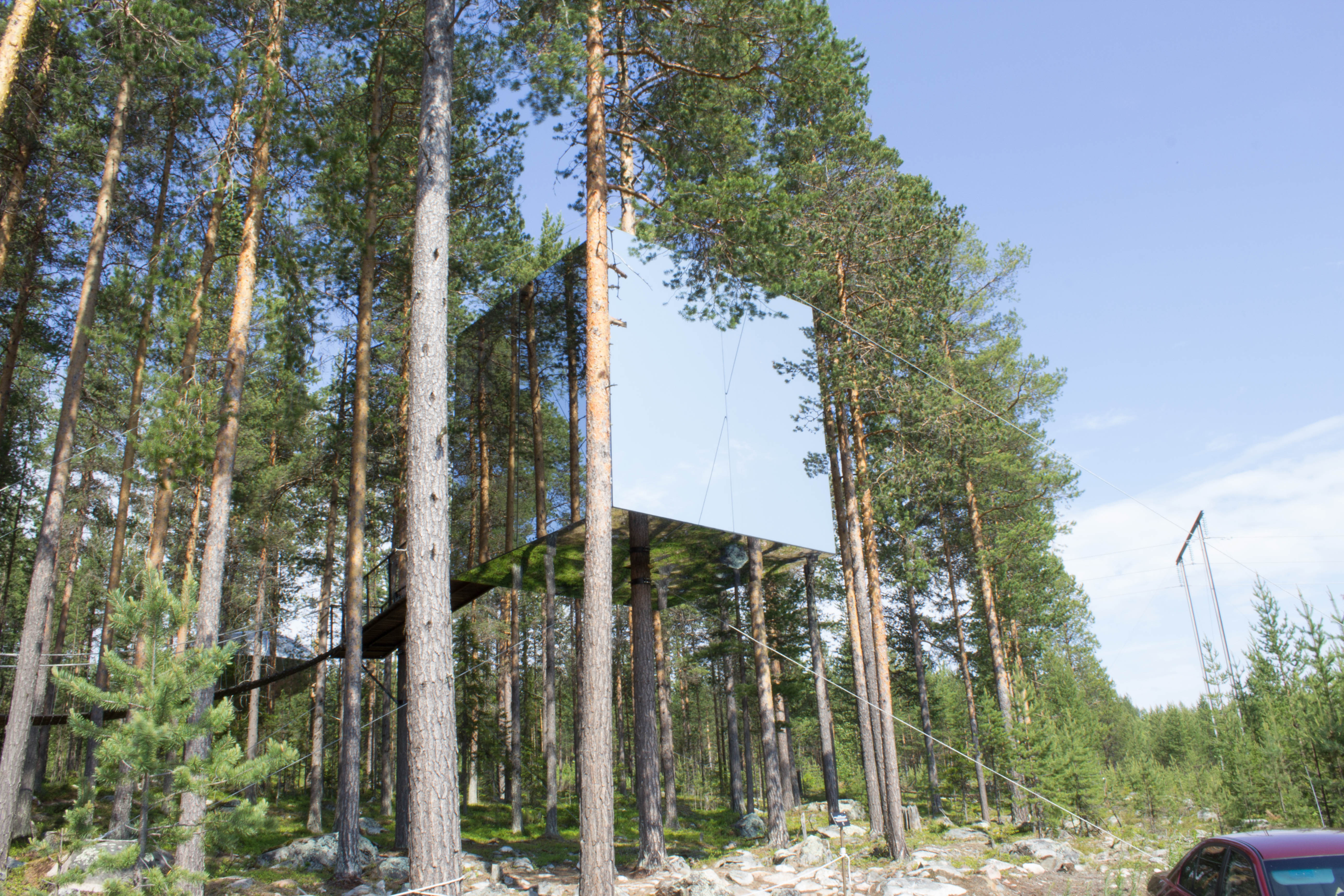 Tree Hotel Harads Sweden Jersey In The Arctic